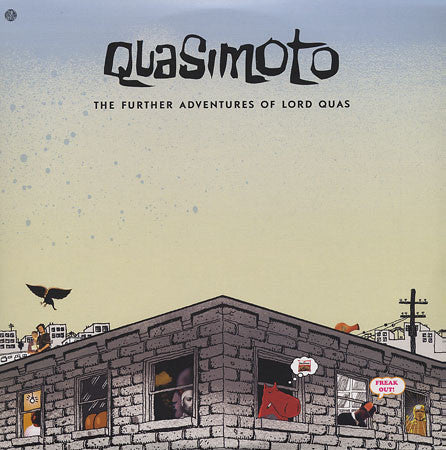 Quasimoto - The Further Adventures of Lord Quas, 2xLP Vinyl - The Giant Peach