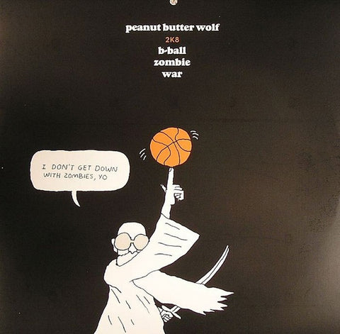 Peanut Butter Wolf - 2K8: B-Ball Zombie War, CD