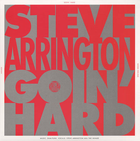 "Steve Arrington - (I Be) Goin' Hard/Good Feeling/Higher, 12"" Vinyl"
