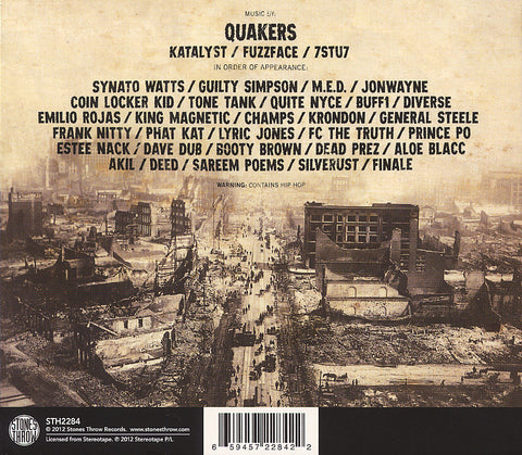 The Quakers - S/T CD