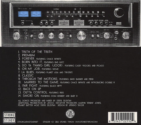 Strong Arm Steady & Statik Selektah - Stereo Type, Audio CD