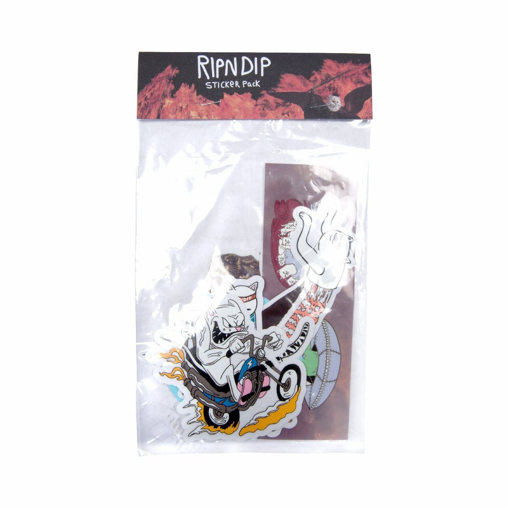 RIPNDIP - Fall 2018 Sticker Pack
