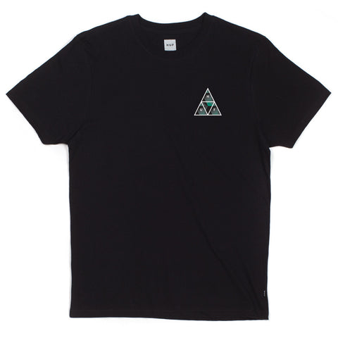 HUF - Premiere Triple Triangle Men's Tee, Black