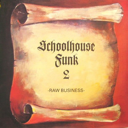 DJ Shadow - Schoolhouse Funk II (Red), LP Vinyl - The Giant Peach