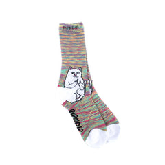 RIPNDIP - Lord Nermal Socks, Neon - The Giant Peach