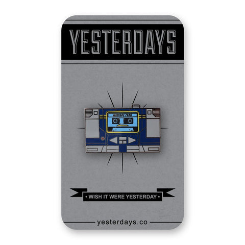 Yesterdays - Boombox Pin