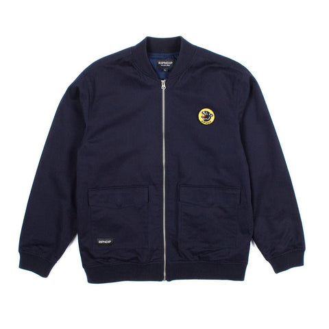 RIPNDIP - Panther Varsity Men's Jacket, Navy