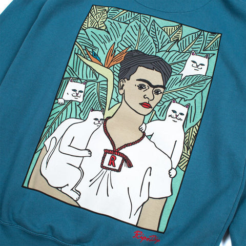 RIPNDIP - Frida Nermal Men's Hoodie, Dove Blue