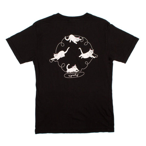 RIPNDIP - Nermal Strings Men's Tee, Vintage Black