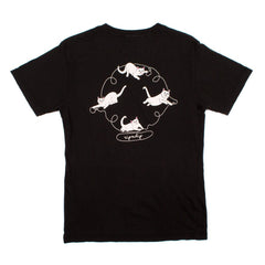 RIPNDIP - Nermal Strings Men's Tee, Vintage Black - The Giant Peach