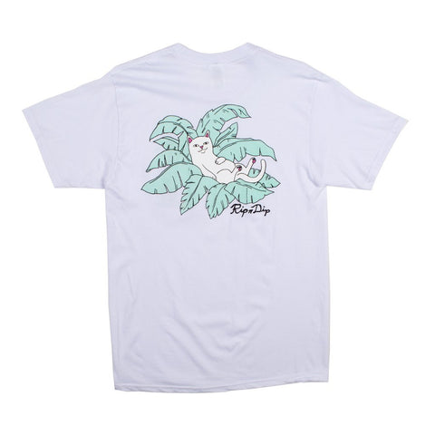 RIPNDIP - Nermal Leaf Men's Pocket Tee, White
