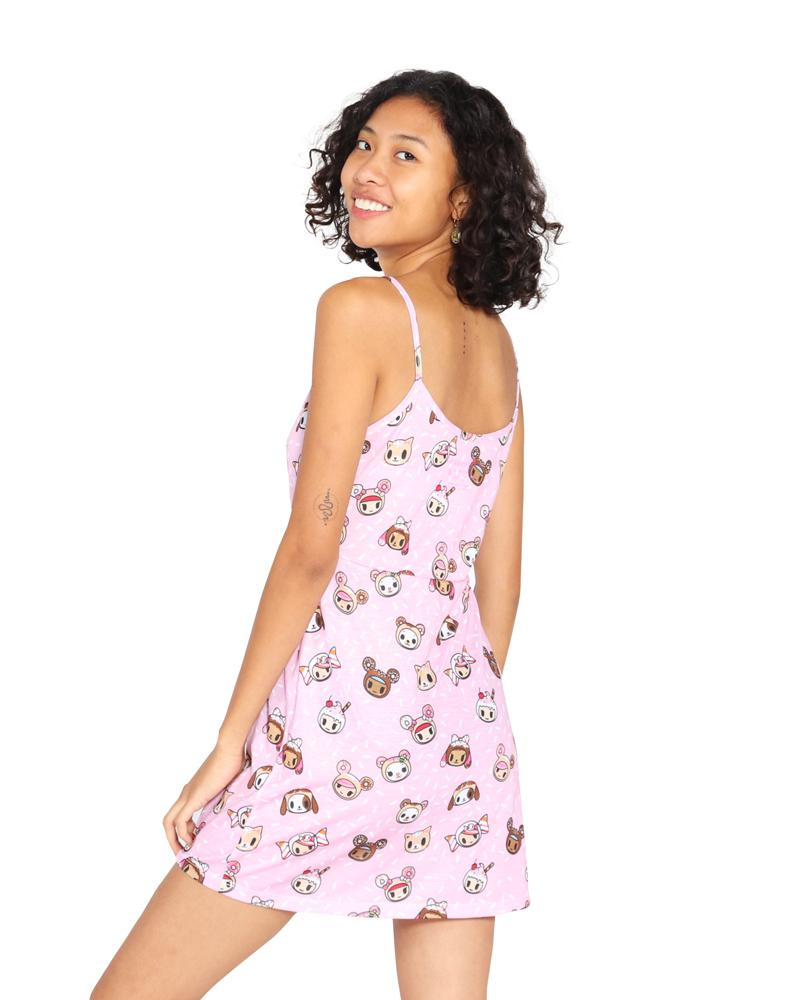 tokidoki - Sprinkled Sublimation Dress, Pink