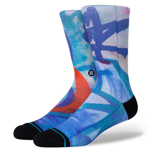 Stance x Stash Wall Men's Socks, Blue