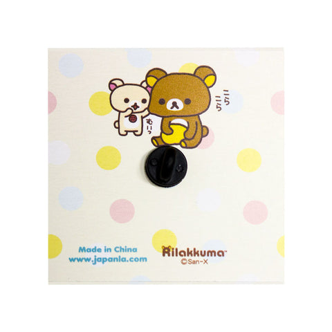 JapanLA - Korilakkuma Strawberry King Enamel Pin