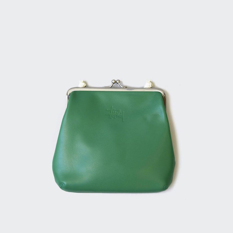 Stussy - Vita Kisslock Purse, Green