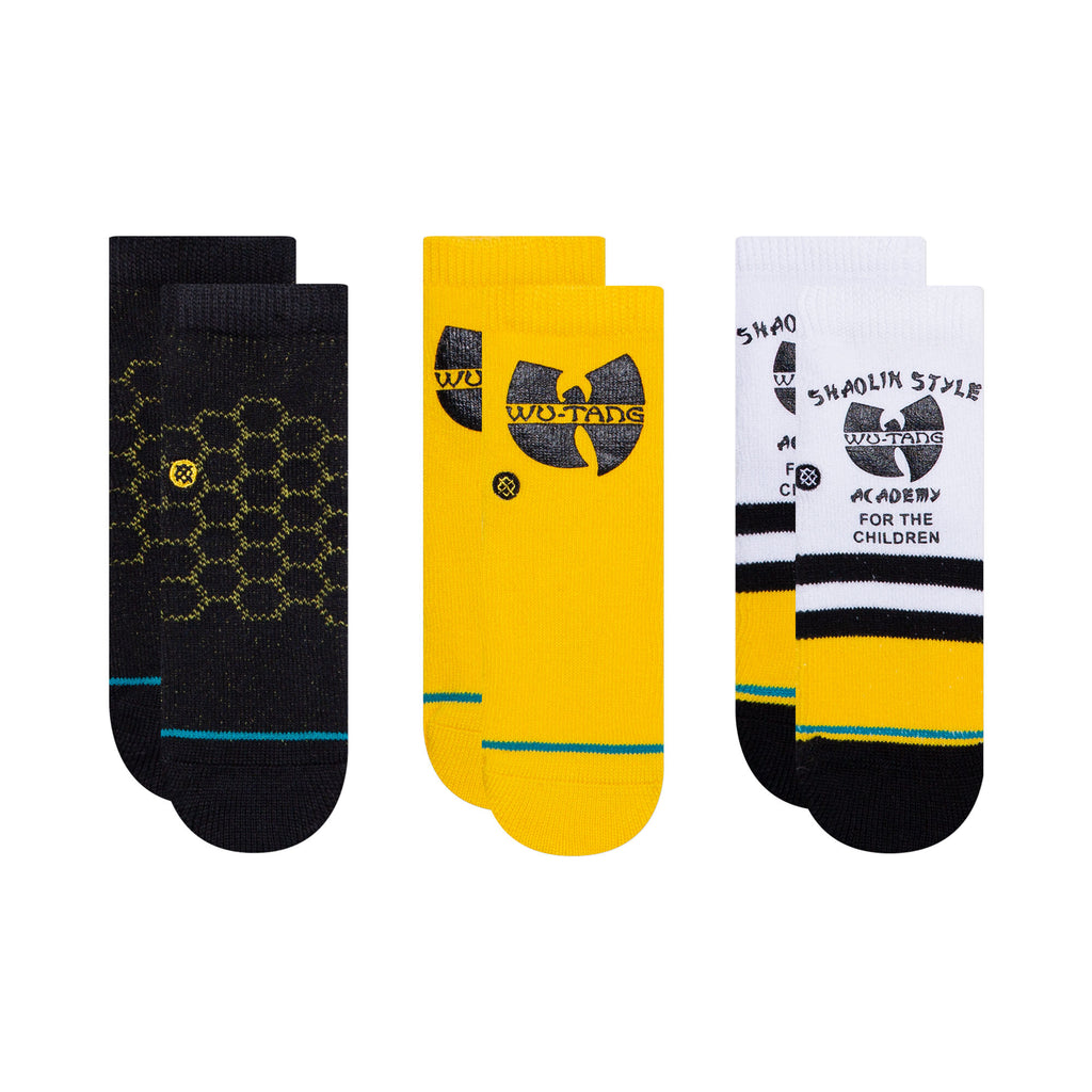 Stance x Wu-Tang Clan - Wu-Tang 3 Pack Toddler Socks, Multi
