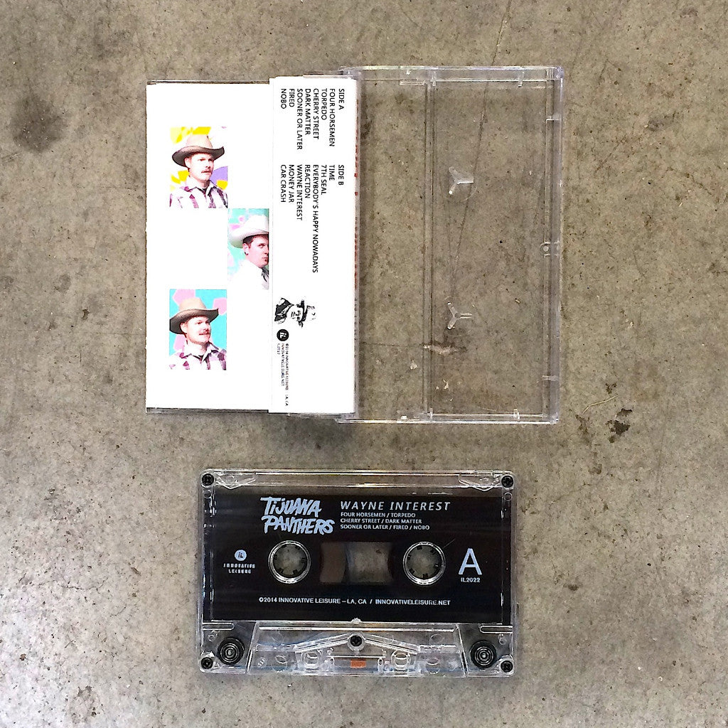 Tijuana Panthers - Wayne Interest, Cassette Tape - The Giant Peach - 2