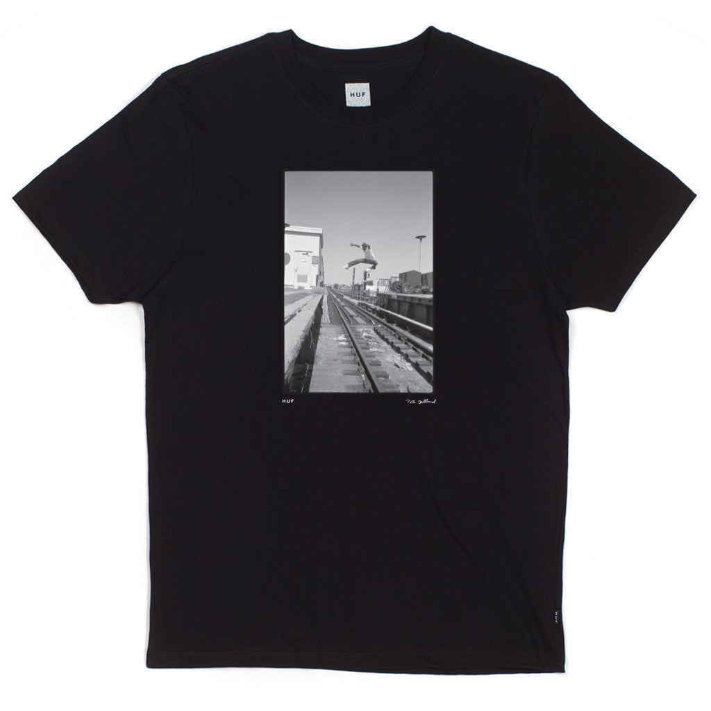 "HUF - Tobin Yelland ""Mike Hernandez"" Men's Tee, Black - The Giant Peach"