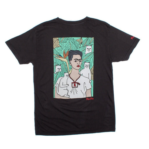 RIPNDIP - Nermal Frida Men's Tee, Vintage Black