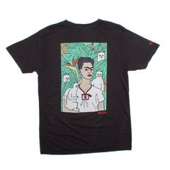 RIPNDIP - Nermal Frida Men's Tee, Vintage Black - The Giant Peach