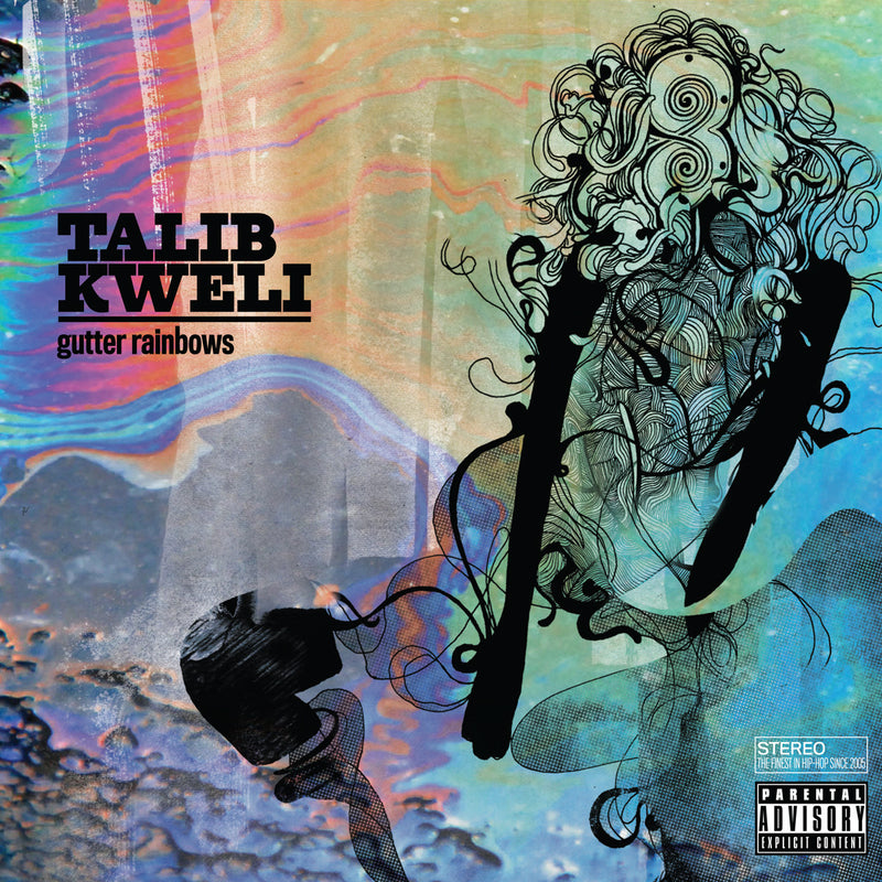 Talib Kweli - Gutter Rainbows, CD - The Giant Peach