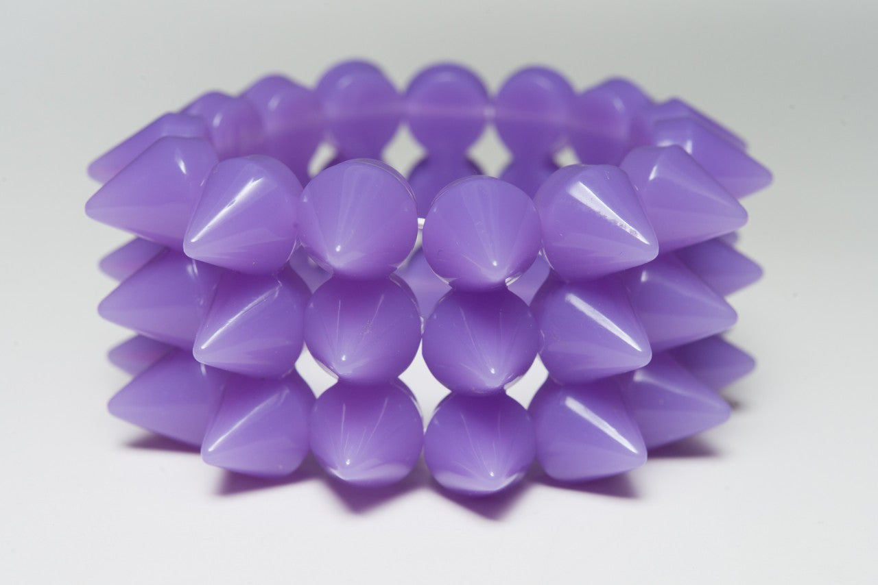 Rainbow Starr - Iris Bracelet, Pastel Purple - The Giant Peach