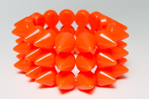Rainbow Starr - Dara bracelet, Orange
