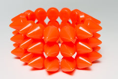 Rainbow Starr - Dara bracelet, Orange - The Giant Peach