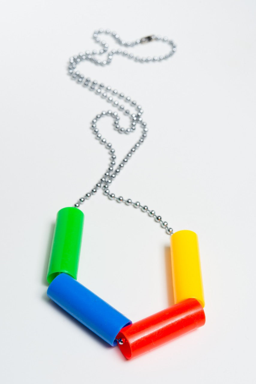 Rainbow Starr - Audrey necklace, multi - The Giant Peach
