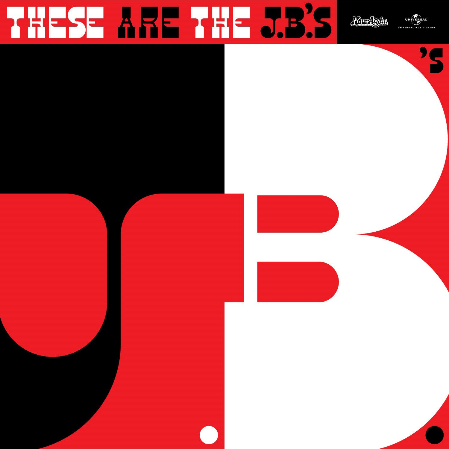 JB's - These Are The J.B.'s, Vinyl LP - The Giant Peach