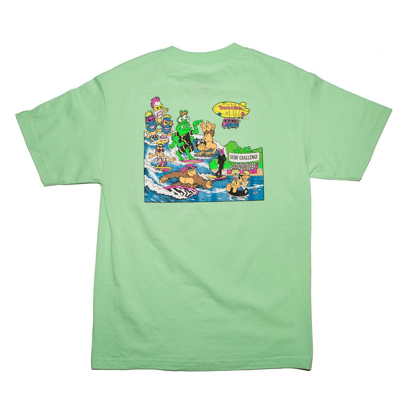 Thrilla Krew - Surf Challenge Men's Tee, Mint