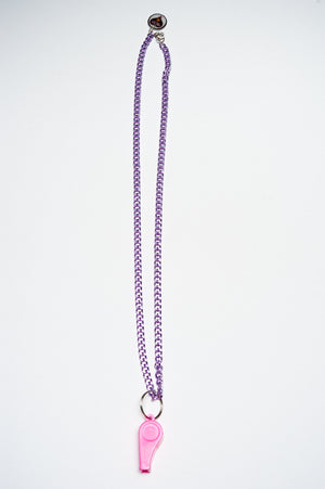 TRiXY STARR - Annabelle Necklace, purple/pink - The Giant Peach