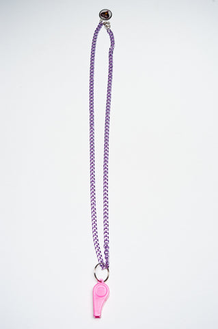 TRiXY STARR - Annabelle Necklace, purple/pink