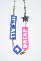 TRiXY STARR - All A Dream Necklace, Silver/purple/Pink - The Giant Peach - 2