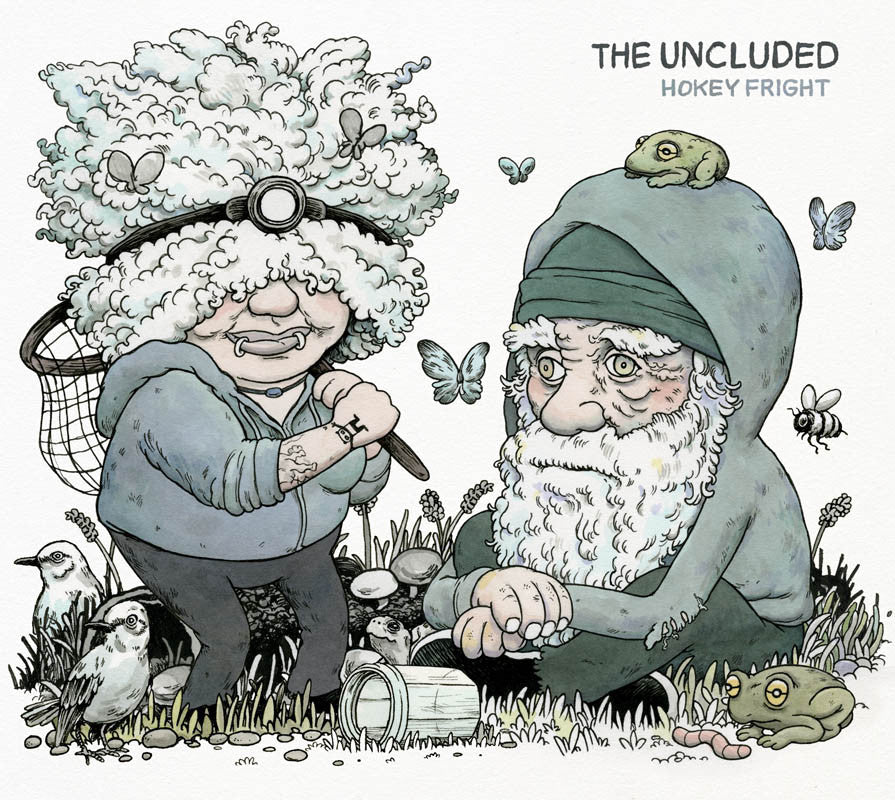 The Uncluded - Hokey Fright, CD - The Giant Peach