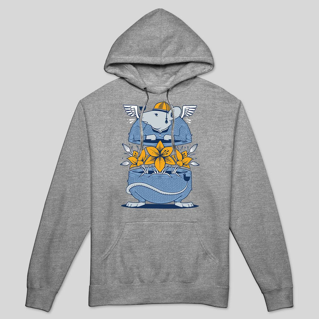 Upper Playground - Jeremy Fish The Rat Race Lightweight Men's Hoodie