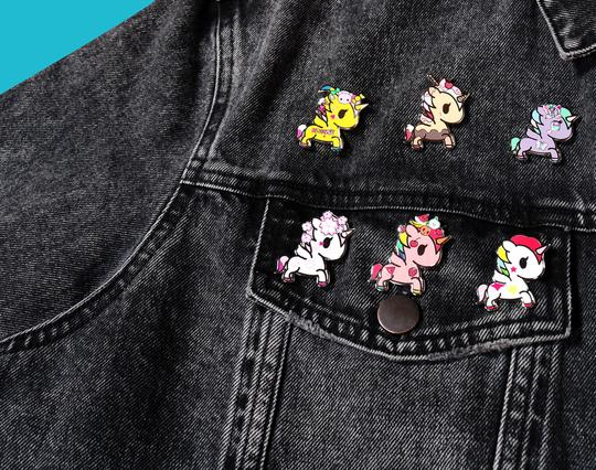 tokidoki - Unicorno Collectible Enamel Pin Blind Box
