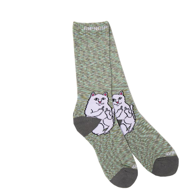 RIPNDIP - Lord Nermal Socks, Grey Speckle