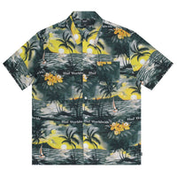 HUF - Venice Woven S/S Men's Shirt, Black