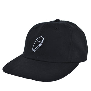 Quiet Life - VIP Men's Polo Hat, Black - The Giant Peach