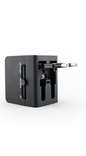 Akomplice - World Power Adapter, Black - The Giant Peach - 3