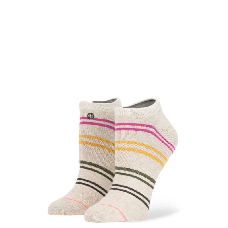 Stance - Jah Women's Invisible Boot Socks, Oatmeal Heather - The Giant Peach