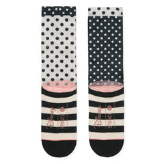 Stance x Disney - Sprinkled Minnie Women's Socks, Black - The Giant Peach