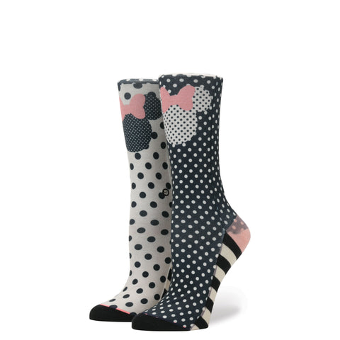 Stance x Disney - Sprinkled Minnie Women's Socks, Black