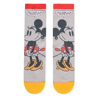 Stance x Disney - Tick Tock Minnie Women's Socks, Off White - The Giant Peach