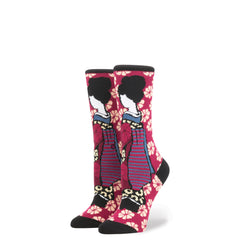 Stance x Rihanna - Geisha Women's Socks, Pink - The Giant Peach