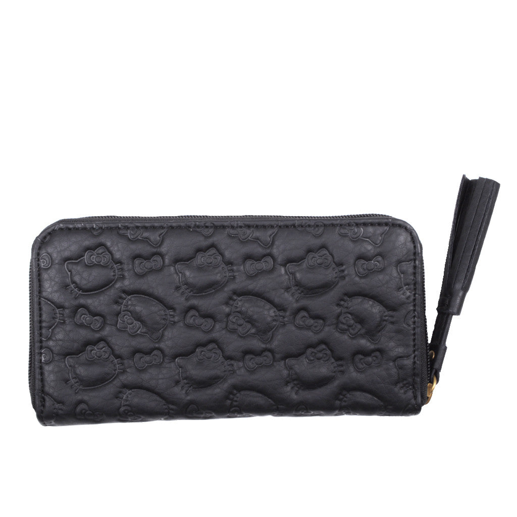 Loungefly - Hello Kitty Embossed Wallet, Black - The Giant Peach - 2