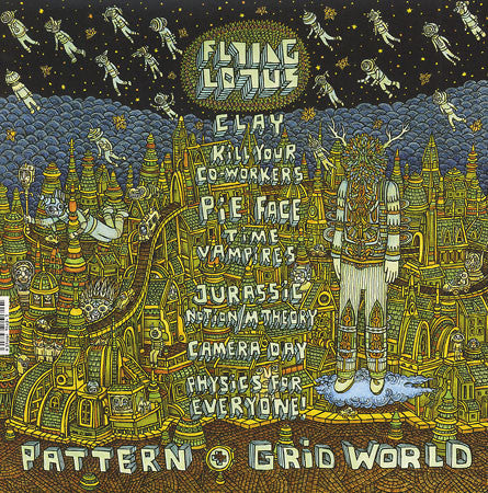 Flying Lotus - Pattern + Grid World, EP Vinyl w/ Download Code + Poster - The Giant Peach