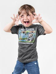 Out Of Print - Where the Wild Things Are Kid's Tee, Heather Charcoal