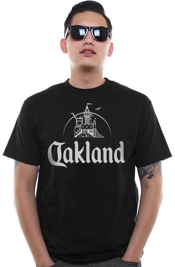 Adapt - Oakland Men's Tee,  Black - The Giant Peach